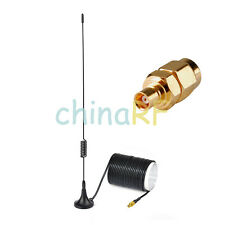 DAB Freeview Antenne antenne 5dBi pour Pour Voiture Radio Coaxial MCX & SMA Male to MCX