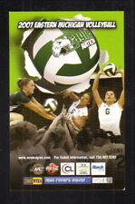 Eastern Michigan Eagles--2007 Volleyball Pocket Schedule