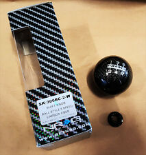 NRG Shift Knob CF CARBON FIBER BALL Heavy Weight Honda & Acura (BALL STYLE)