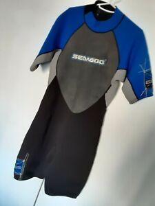 "Sea-Doo ""Stallion"" Shorty Wetsuit - NEW - Men's Large (L)"