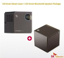 SK UO SMARTBEAM Laser &Speaker Package Portable Mini Beam Projector World First