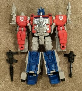 Transformers Generations Titans Return Leader POWERMASTER OPTIMUS PRIME COMPLETE