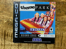 Theme Park - Anleitung / Manual - Sega Mega (Drive) CD - very rar
