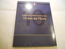 2012 COLLECTION 10 ANS HISTOIRE DE L'EURO 5 PIECES COMMEMORATIVES