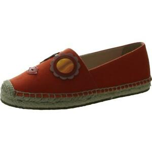 Kate Spade Womens Grenada Glasses Canvas Slip On Espadrilles Shoes BHFO 9682