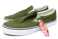 Vans Classic Slip-On Winter Moss/True White NIB Size US 12.0 Men's VN0A38F7OW2