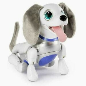 NEW   SPIN MASTER ZOOMER PLAYFUL PUP ROBOTIC TOY DOG   25 TRICKS! RESPONDS 2 YOU