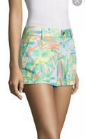 Lilly Pulitzer Callahan Shorts Sea Salt And Sun Size 4 Multi Color NWT