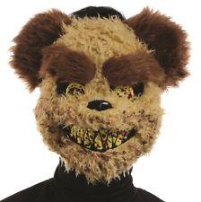 Vestito per Halloween assassino ORSETTO Horror Maschera NUOVO