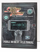 STARSHIP TROOPERS Mobile Infantry RPG Role Playing Game Hardcover BOOK- UNUSED