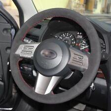 DIY Custom Hand Sew Car Steering Wheel Cover For Subaru Forester