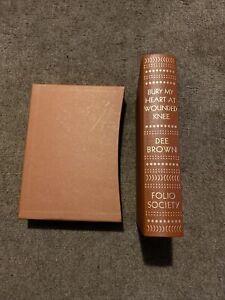 bury my heart at wounded knee Folio Society