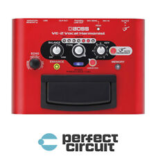 Boss VE-2 Vocal Harmonist Pedal EFFECTS - NEW - PERFECT CIRCUIT