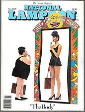 NATIONAL LAMPOON THE HUMOR MAGAZINE NOVEMBER 1978 (VG/FN)