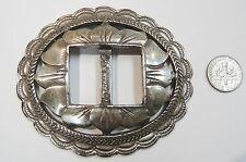 Design Made In Taiwan N283-K Vintage Belt Buckle/Nickel Silver Southwest