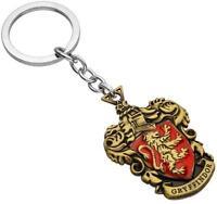 Hogwarts Wizarding Harry Potter school badge Keyring Keychain~Gryffindo *