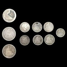 Assorted Lot of Pre 1920 US Silver Currency
