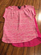 Girls Size 10/12 Pink Shirt