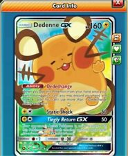 Dedenne Gx online digital card - pokemon tcg ptcgo