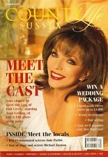 JOAN COLLINS - British COUNRTY LIFE - SUSSEX Magazine March 2004  C#79