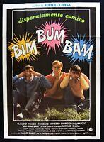 Werbeplakat Bim Büm Bam Aurelius Kirche Bakary Bonetti Locuratolo Ciulli Dona