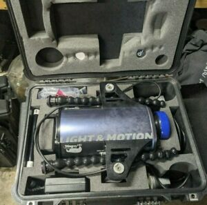 Light And Motion Stingray HD Scuba Camera Housing, Pelican Case, Lights and Acc.