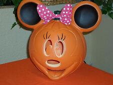 Halloween Minnie Mouse JOL Pumpkin Blow Mold Light
