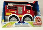 Kid Galaxy R/C Race Or Chase Soft & Squeezable Fire Truck - New in box