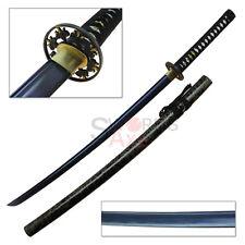 Sugoi Steel Arumaito Series (アルマイト) Heat Tempered Blue Blade Katana 1045 Steel