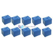 10 x JQC-3F 5 Pins SPST Power Relay DC 18V Coil 10A/125V AC 10A/28V
