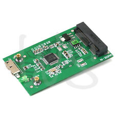 Aluminum Hi-Speed mSATA SSD to USB 3.0 Converter Adapter Enclosure External Case