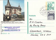 (07625) CLEARANCE Germany Cover Trains Kassel Frankfurt