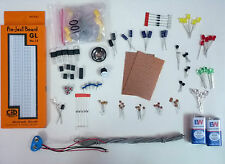 Electronics Starter Kit , DIY Kit ( 200+ Parts ) With Breadboard...