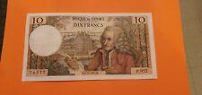Billet De 10 Francs Voltaire 1973