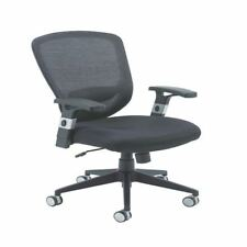 Arista Fusion High Back Mesh Chair With Lock and Tilt Black KF73906 [KF73906]