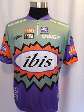 Giordana Cycling Jersey 4XL Purple Green Orange