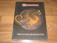Rolemaster Kreaturen & Monster HC Quellenband 2011 13Mann Verlag deutsch Neu OVP