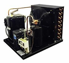 Indoor WJ2440Z-2 Condensing Unit 1 HP, Low Temp, R404A, 220V, Assembled in USA