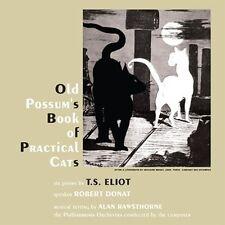 CD T S ELIOT OLD POSSUM'S BOOK OF CATS ROBERT DONAT MUSIC by ALAN RAWSTHORNE