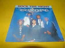 "EUROPE - Rock the night - VINYL 45T - 7"" !!!"