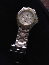 AWESOME FIND NICE WATCH FOSSIL BLUE MODEL 809037 BEAUTIFUL WATCH. COST 128.99