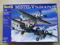 Mistel V, Ta-154 & Fw-190, Revell, Scale:1/48, Kit 04824, Super Bausatz!