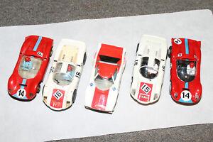 5 Fahrzeuge Carrera Exclusiv Porsche C6 Ferrari und BMW