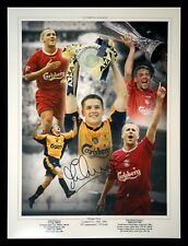 *New* Michael Owen Liverpool Signed 12x16 Football Photograph