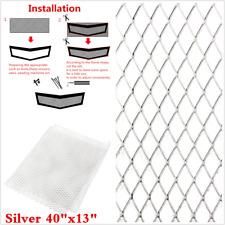 40''x13'' Universal Aluminium Grille Net Mesh Vent Car Vehicle Body Grill Silver