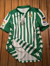 Camiseta oficial Real Betis 2019/20 titular - nueva con etiquetas - M