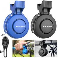 Rechargeable Waterproof Electronic Bicycle Bike Horn Loud Volume Ring Alarm Bell