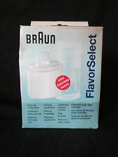 BrAun Flavor Select filter KWF 1 New in sealed packaging. cartridge for coffee
