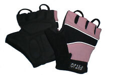 PINK CHILDRENS GEL PADDED CYCLING BIKE MTB BMX BICYCLE GLOVES MITTS XXXXS - S