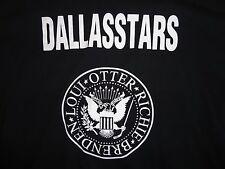 Black Dallas Stars Longsleeve T Shirt Adult XL Free US Ship